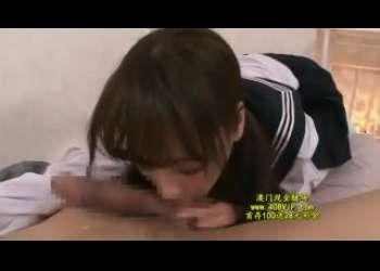 【桃乃木かな】超かわいい童顔ロリ巨乳美少女JKリフレで本番行為ご奉仕手コキフェラ抜き