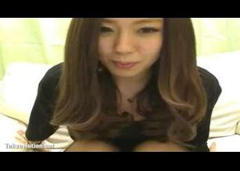 黒パンスト姿で素人ライブチャット動画個人撮影生配信するお姉さんの可愛らしい愛嬌のある生放送