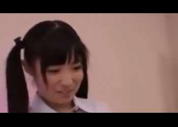 【さとう愛理】激かわツインテール美少女JKがアナル舐め手コキフェラ抜きしてくれる快感やばすぎ