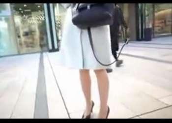【人妻ナンパ】街中で一番スタイルの良かった美脚の綺麗なスレンダーでしかも美巨乳の奥さんを連れ込み、生ハメ中出し!