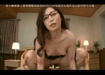 【佐々木あき】清楚で綺麗な顔したメガネのスレンダー美熟女が自ら腰を振りガチハメ!しかも生ハメ中出し!