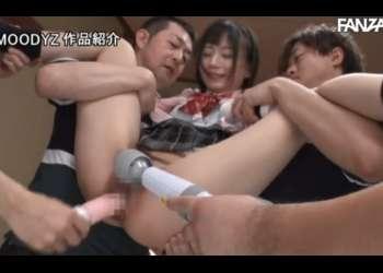 【七沢みあ】色白スレンダーで美乳の女子マネージャーが部員の裏切りに遭い、集団で輪姦、ザーメンぶっかけ!