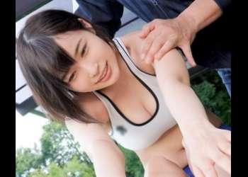 【河合あすな】陸上部のスレンダー美巨乳激カワJKが、コーチのセクハラSEX特訓を受けて連続アクメ!!