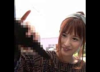 【素人ナンパ】「やん..彼氏のより大きい♡」北関東在住の地元女子大学生のJDな美少女をMM号に連れ込み着衣のままイタズラレイプ