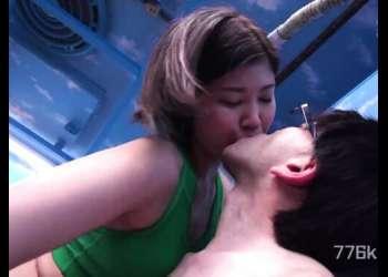【マジックミラー号】長身素人アスリートのエロ動画