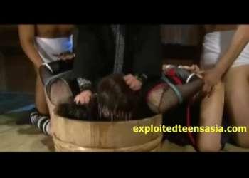 【くノ一凌辱】拷問!拷問!拷問!捕らえた女忍者を徹底的に犯しつくせ!!【水責め/拘束/縛られ】