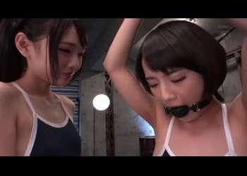★跡美しゅり★ドMとドSの共演♡レズ凌辱の極みここにあり!★向井藍★【SM/拘束/調教】