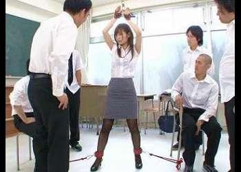 S級ボディの可愛すぎる新任教師を性ドレイ化!女の体の仕組みを実技で勉強させてもらいます!!