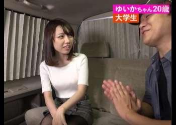 20歳の大学生をハグナンパ『男性経験も少なそうな美少女がwww』車の中で口説き堕とされてイク!