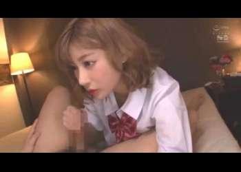 【AVアイドル】「勝手にイっちゃダメだよ♡」爆乳おっぱいのドSアイドルがJKコスプレでやってくれちゃう♡