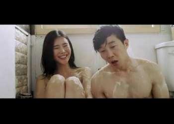 【韓国映画】濃厚ラブシーンで清楚系美人女優が乳首をフル勃起!S級美乳おっぱい丸出しフルヌードSEX!【エロ動画】