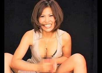 【男の潮吹き】痴女が関西弁で寸止めを繰り返し手コキで男の潮吹き!雫パイン