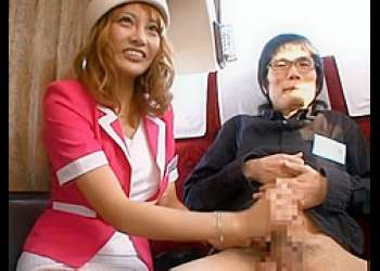 【明日香キララ】 ファン感謝祭バスツアー。お客様ひとりひとりに丁寧な手コキ