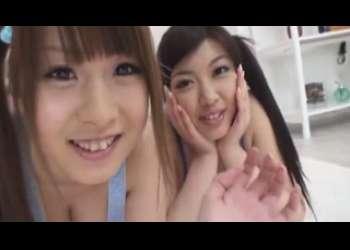 ●姫村ナミ 北川瞳  ダブルGcupの爆乳姉妹と夢の同棲生活