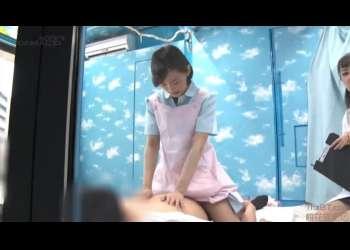 【八ッ橋さい子】マジックミラー号でスケベなギャルがエッチなことされておまんこが大興奮!MM号!大量中出し!美人看護師!素股でちんぽをゴシゴシ!