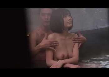 「ちょっと触ってもいいですか?」地方温泉に巨乳が入ってきたんだけど!!
