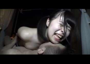 「アン、アンア〜ン❤︎」スクール水着少女、巨根に興奮し絶頂!!