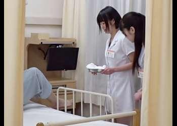 入院性活って最高だぜ♬緊張しきった新人白衣の天使が黄ばんだチ●コ汁を抜いちゃうトレーニング始めちまったWWWWWWWWWW