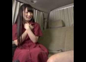 【センズリ鑑賞】「え…そうやってするんですね///」おっとりロリ美少女がМ男のオナニーのお手伝い!