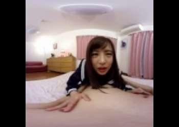 【フェラ動画が見たい!!】佐々波綾ちゃんとイチャイチャSEX!制服コスプレがたまらんです!!