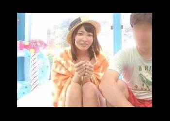 <橘花音>歯科衛生士のカノジョが美容エステでコーフンしてミラ-の外で待つ彼氏♡裏切る種付けsex!!