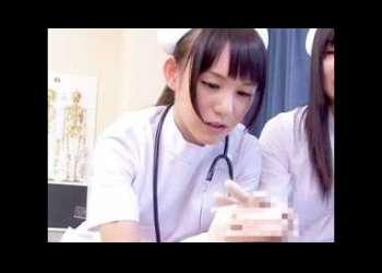看護士の美人たちが、オちんぽ♡淫靡すぎる技で攻め続けて激逝き♡何度もしあうことになるWW