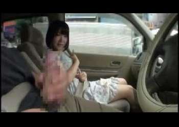 「口淫」「脱ぎ・お触り一切無し・・・誰にでも出来る、見るだけの簡単なお仕事!!」求人誌のコピ~に釣られたシロート娘達に、運転席に座る男の自!!