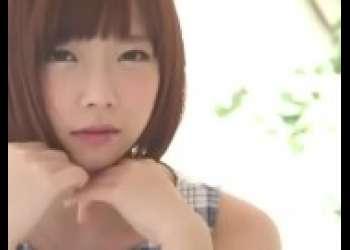 【紗倉まな】超かわいい芸能人セクシー女優の茶髪ショートカットヘアロリ巨乳姿で生ハメ生中出しOK