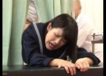 【白咲碧】健康診断で騙されてキモオヤジに犯される童顔ロリ美少女JKレイプ小柄ミニマム低身長