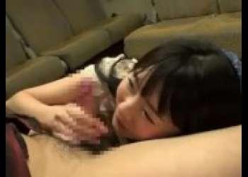 【つぼみ】ロリかわいい美少女の上目遣い手コキフェラ抜き最高に抜ける