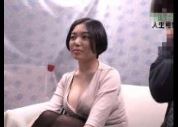 【人妻ナンパ】巨乳ショートカットヘア奥さん連れ込み寝取られ不倫人妻生ハメ生中出しでやられちゃった
