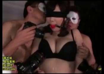 【若槻みづな】Hカップ爆乳むちむちお姉さん目隠しドMすぎる変態性奴隷調教されて喜ぶド変態