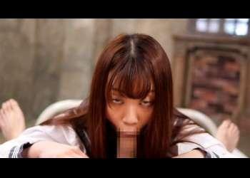 【アヘ顔フェラ】超エロいバキュームフェラ抜きで恥ずかしい顔しながらフェラ抜きするJK制服姿の痴女笠木いちか高画質