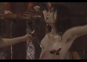 【君島冴子】清楚で妖艶な美女が・・ドMで変態女だとは誰も知らない!ビンタでウットリ・・電流流しで痙攣絶頂!