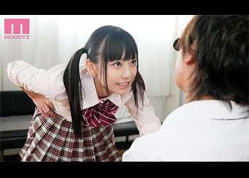 [七沢みあ]『も~♡お仕置きしちゃうぞ♡』激カワ痴女JKは乳首をイジって何度も寸止め手コキ!M男調教に先生はフラフラ!