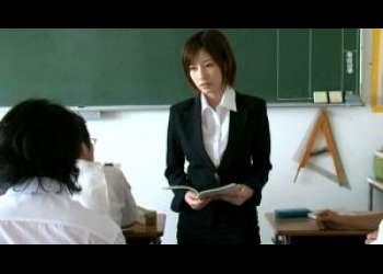 クズ生徒どもに校内で犯され続ける巨乳美人女教師