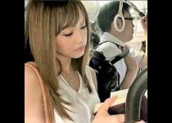 <吉沢明歩>美人巨乳OLがバスでストーカーに痴漢され、その後オフィスで無理やり凌辱レイプ!