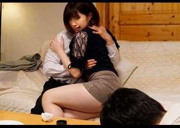 「お願いだから中に出さないでっ!!」豊満なバストを持つ人妻が夫の上司にNTR♪夫以外の子供を妊娠してしまう…【石原希望】