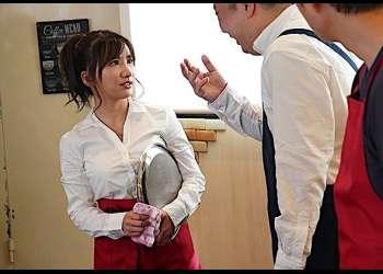 【NTR】『やめてください!ああぁぁ』H乳で可愛くいバイト先の美少女が大嫌いな店長に無理やり犯され中出しされちゃう…