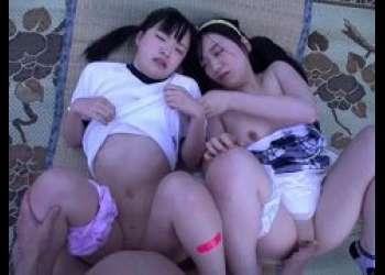 田舎に農業体験に来た少女たちが変態ロリコンおじさんに幼いマンコを犯される動画