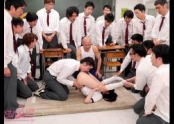 さくらゆら 美少女JKがクラスメイト30人にブッコ抜きレイプされる動画