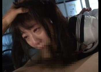 篠宮ゆり 拘束されたJKがイラマチオでクチマンコを犯される動画