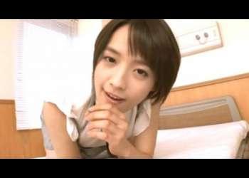 【向井藍】ショートヘアのゲキカワ美少女が完全主観オナニーサポート!パンチラからおま○こアナル見せつけエッチな姿で挑発