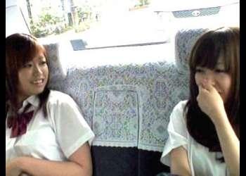【JKレイプ】レ◯プ魔と手を組んだ非道タクシードライバー!何も知らず乗り込んだ美少女が必死の抵抗もむなしく車内で犯される
