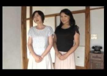 竹内梨恵・宝田さゆり美熟女レズ、五十路巨乳おばさんが熟練テクニックで逝きまくるベロキス・クンニ
