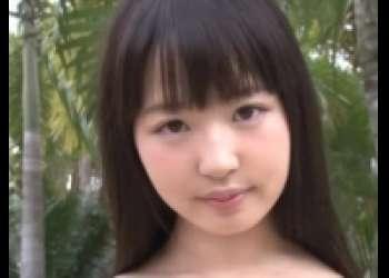 渚野洋子・ちっぱい着エロアイドルが前貼りパイパンマンコぐりぐり、ロリ系童顔美少女オナニー