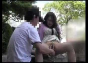 個人撮影・熟女アブノーマル青姦野外露出、セフレ人妻変態肉便器・放尿プレイ肛門凌辱