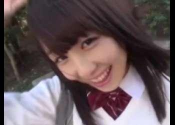 土屋あさみ・童顔アイドル級JK円光、パイパンセーラー服着衣女子校生フェラチオ中出し