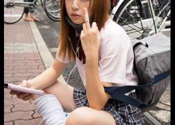【円光】『激カワ美少女援交!スレンダーな可愛いギャルJKの援助交際』美女女子校生がフェラ手コキと騎乗位ハメ撮りセックス