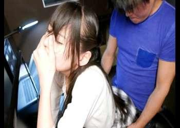 【女子校生】『激カワ美少女!スレンダーで可愛い制服美人JKのベロキス』美女がフェラ手マン手コキや騎乗位ハメ撮りセックス